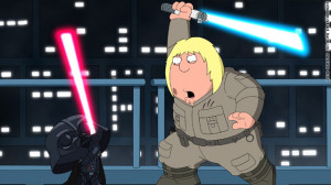 Family Guy' meets 'Star Wars' -- again