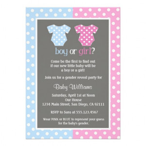 gender reveal party baby shower invitation gender reveal party baby