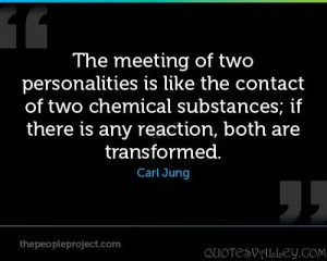 ... chemical substances:if there is any reaction, both are transformed