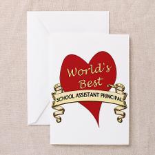 Vice Principal Greeting Cards