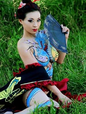 Yaya Han Set Photos Yakuza...