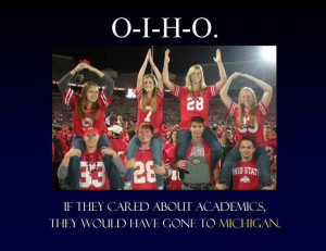 university of michigan verse ohio state