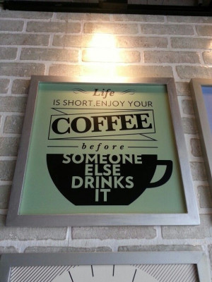 From a Coffee Addict .... ♥