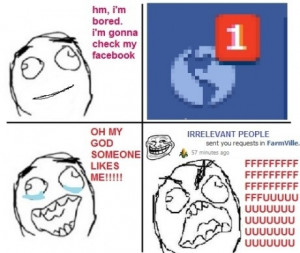 Rage I'm Bored I'm Gonna Check My Facebook