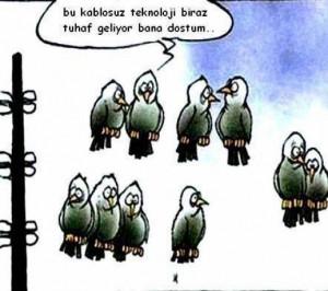 Güldüren Teknoloji karikatürleri