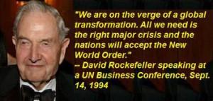 David Rockefeller and the Looting of Iran