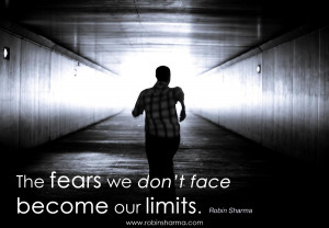 The Fears We Don't Face…