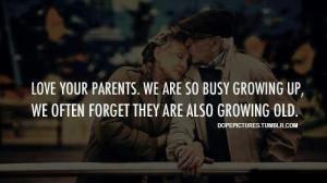 aging parents quote