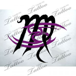 Pin Virgo Zodiac Tattoos