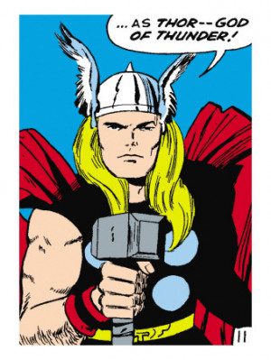 marvel-comics-retro-mighty-thor-comic-panel-god-of-thunder-holding ...