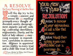 Early 20th-century resolution postcards, from Wikipedia.com