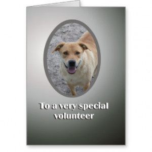 Volunteer Appreciation Cards & More