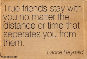 Distance Quotes For Friends