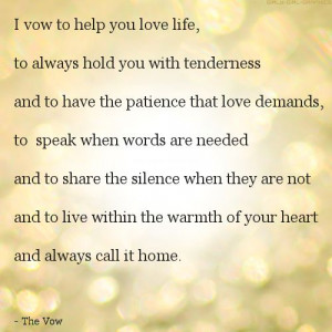 Vow Quotes