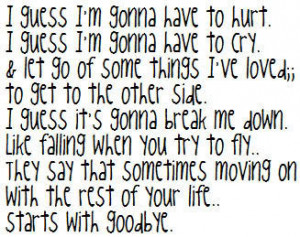 These are the hot quotes about goodbye don sad Pictures