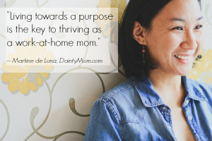 If an at-home mom wants to make the leap to start working from home ...