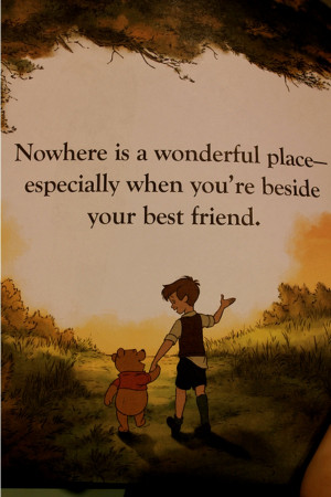 ... Especially when You're beside Your Best Friend ~ Best Friend Quote