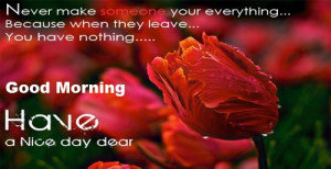 good morning quotes with roses (11)