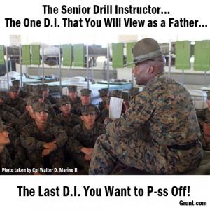 The Senior Drill Instructor