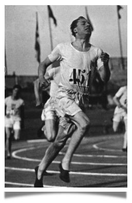 Eric Liddell, the Scottish minister and missionary who won the men's ...