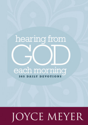 """... Hearing from God Each Morning: 365 Daily Devotions"""" as Want to Read"""
