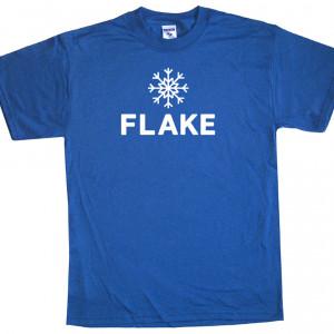 Snow Flake T Shirt Ski Snowboard Funny Tee Shirts