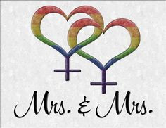... Great for LGBT Marriage gifts. #Lesbian #mrmr #liveloudgraphics More
