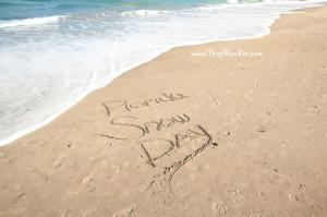 Florida Snow Day Beach Quotes