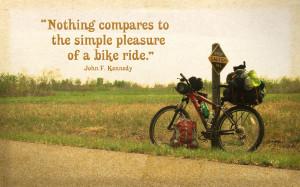Bike Ride Quote by ZombiePoppa