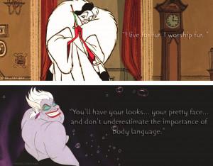 Disney Villain Quotes
