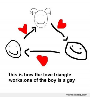 Love triangle
