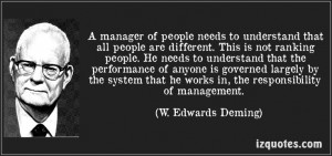... deming quotes people don t like to make mistakes w edwards deming