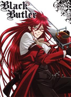Grell the psyco from Kuroshitsuji/ Black Butler