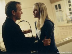 Kiefer Sutherland und Sarah Wynter
