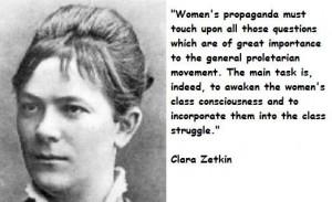 Clara zetkin famous quotes 4