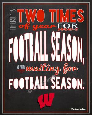 Wisconsin Badgers Football Season Darius Rucker Quote INSTANT DOWNLOAD ...