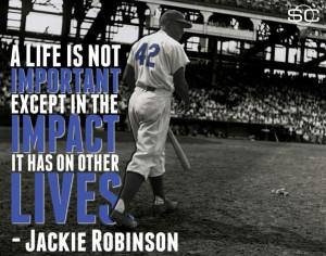 Black History January 31: Jackie Robinson born 96 years ago