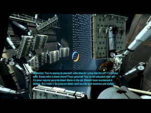 Related Pictures glados wheatley turrets of portal sing this is ...