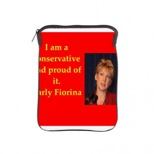 2016 Gifts > 2016 Tablet Cases > carly fiorina quote iPad Sleeve