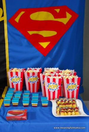 superhero birthday party #ideas #3 year old-053