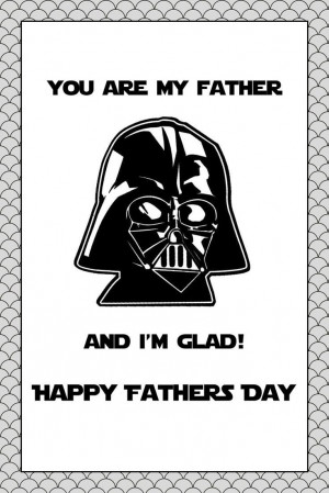 ... Star Wars, Father'S Day, Free Stars Wars Printables, Fathers Day Cards