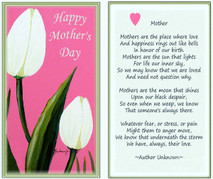 Happy Mothers Day Painting