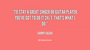 Sammy Hagar Quotes