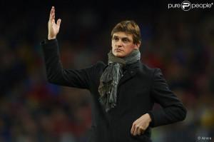 Tito Vilanova au Camp Nou le 6 avril 2013 lors d'un match entre le ...