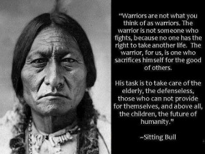 Warriors are not what you may think. There are silent heroes amongst ...