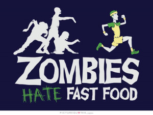 Running Quotes Zombie Quotes