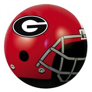 ... University of Georgia Bulldogs Football Outdoor Inflatable Beach Ball