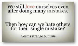 Funny But True Love Quotes Seems strange .
