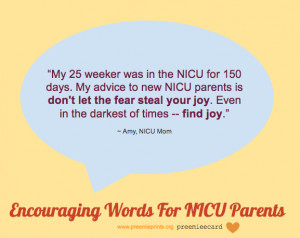 Encouraging Words For NICU Parents