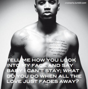 trey songz, celebrity, singer, quotes, sayings, about love ...